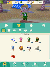 to edit your appearance in animal crossing pocket camp