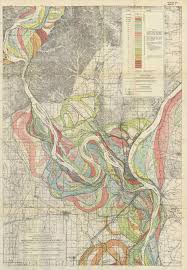 Cairo Illinois Map by Spatial Patterns Understanding Society