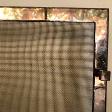 modern brass fireplace screen shophousingworks