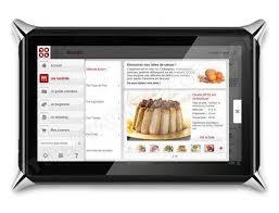 tablette de cuisine qooq qooq v2 tablette tactile pas cher