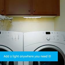 lights kitchen cabinets battery operated ge 9 in battery operated wireless remote led cabinet