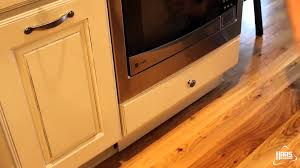 toe kick drawer haas cabinet youtube