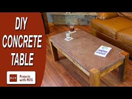 How To Make A Concrete Table by How To Make A Concrete Dining Table Men U0027s Style Banner