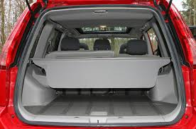 nissan almera luggage capacity nissan x trail station wagon 2001 2007 features equipment and