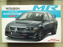 mitsubishi evolution 1 resineasy model store fujimi 1 24 mitsubishi lancer evolution viii mr