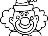 happy clown coloring page wecoloringpage