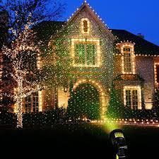 laser christmas lights starry sky outdoor laser lights 7w green 2 in 1 dynamic