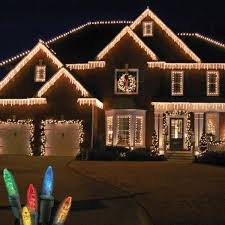 Christmas Decorations For Outside The Home by Top 46 Outdoor Christmas Lighting Ideas Illuminate The Holiday