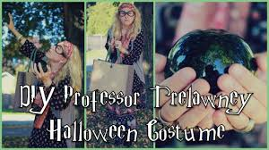 diy professor trelawney halloween costume youtube