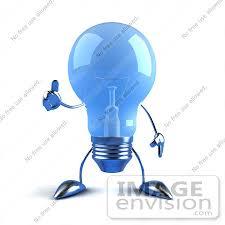 blue free light bulbs royalty free rf illustration of a blue 3d glass light bulb mascot
