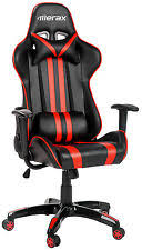 Gaming Computer Desk Merax Executive Pu Leather Office Chair Racing Gaming Computer