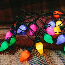 delightful decoration retro lights vintage multi colored