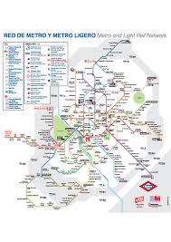 Madrid Metro Map Plano Metro Madrid 2017 Image Gallery Hcpr