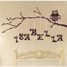 Nursery Owl Wall Decals Wall Stickers For Nurseries Rosenberry Rooms