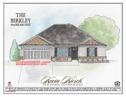 the berkley floor plans kevin kirsch homes