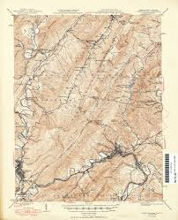 Map Of Ucla Virginia Historical Topographic Maps Perry Castañeda Map