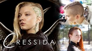 Half Shaved Hairstyles Girls by Hunger Games Hair Tutorial Cressida For Both Shaved And