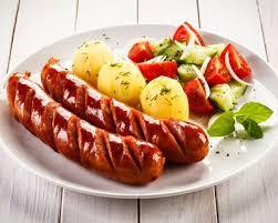 cuisiner des saucisses de strasbourg recette salade composée à base de saucisses de strasbourg