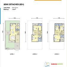layout of villas in gamuda gardens hanoi