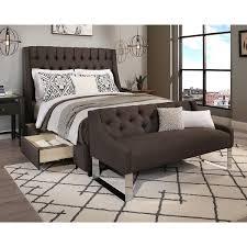 sofa bed sheets queen republic design house cambridge queen size grey tufted headboard