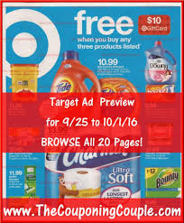target scanned black friday ad target ad scan for 9 25 to 10 1 16 browse all 20 pages