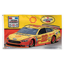 Flags In Nascar Poles And Holders Flags Nascar Joey Logano 22 3x5 Flag