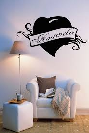 10 best my name amanda images on pinterest baby girls letter vinyl decal amanda personalized name lettering custom wall art decor sticker for girl s room z990