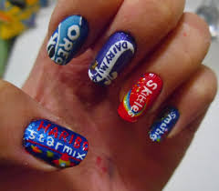 my first post here candy themed nail art pc redditlaqueristas