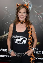 the exorcist halloween horror nights linda blair at halloween horror nights opening in universal city