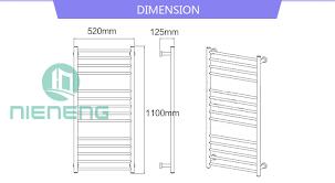 aliexpress com buy nieneng golden electric towel rail heating