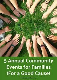 5 annual community events for families for a cause