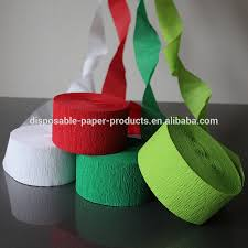 crepe paper streamers bulk crepe paper garland crepe paper garland suppliers and
