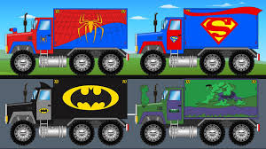 bigfoot presents meteor and the mighty monster trucks batman superman spiderman hulk big trucks monster trucks for