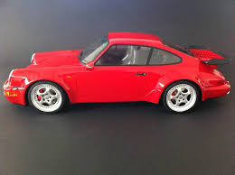 porsche 964 red porsche 964 turbo 3 6 1993 red 1 12 gt spirit gt009cs selection rs