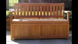 Diy Backyard Storage Bench by Diy Outdoor Storage Bench Waterproof Ideas Great Outdoor Storage