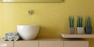 magnificent yellow mosaic bathroom tiles on home remodel ideas
