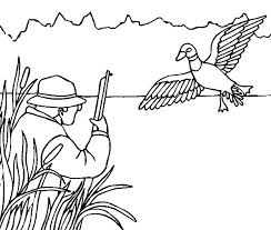 coloring pages nice hunting coloring pages hunter hunting