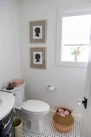 Powder Room Makeovers Photos - black white u0026 french powder room makeover so much better with age