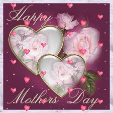 mothers day gifs happy mothers day animated pink hearts white heart roses