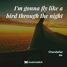 Lyrics Of Chandelier By Sia 9 Best Music Quotes Images On Pinterest Music Quotes Lyrics And