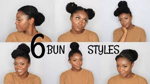 natural hair 6 back to bun hairstyles u2013 art attack