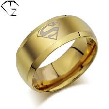aliexpress buy 2017 wedding band for men 316l gz superman rings 316l stainless steel wedding ring for
