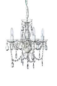 Used Girls Bedroom Chandelier The Original Gypsy Color 4 Light Small Shabby Chic Crystal