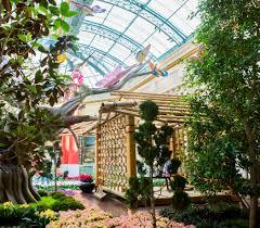 Leach Botanical Garden by Bellagio Conservatory Transformed Into Japanese Tea Garden For