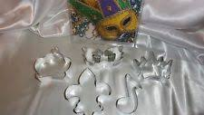 mardi gras cookie cutters fleur de lis cookie cutter ebay