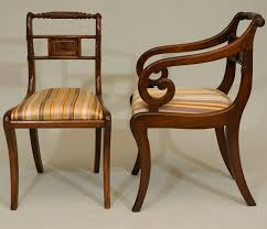 Regency Dining Chairs Mahogany A Set Of Six Regency Period Mahogany Dining Chairs At 1stdibs
