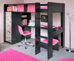 bureau superposé lit avec bureau pour fille lit superpose avec bureau pour fille