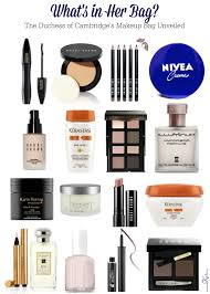 what u0027s in duchess kate middleton u0027s makeup bag