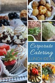 lunch ideas for corporate catering in riverside ct debra ponzek