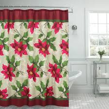 Shower Curtains With Red Famous Home Fashions Hip Squares Red Shower Curtain 901745 The